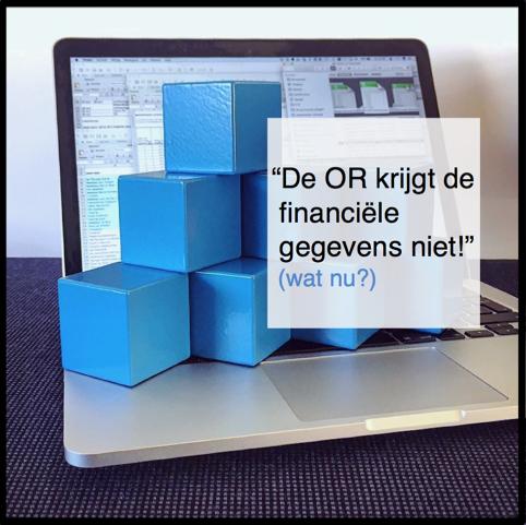 de OR krijgt de financiele gegevens niet - CT2.nl