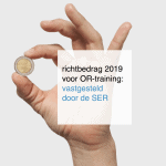 richtbedrag voor OR-training 2019: vastgesteld door de SER