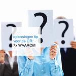 oplossingen tip voor de OR: 7x WAAROM