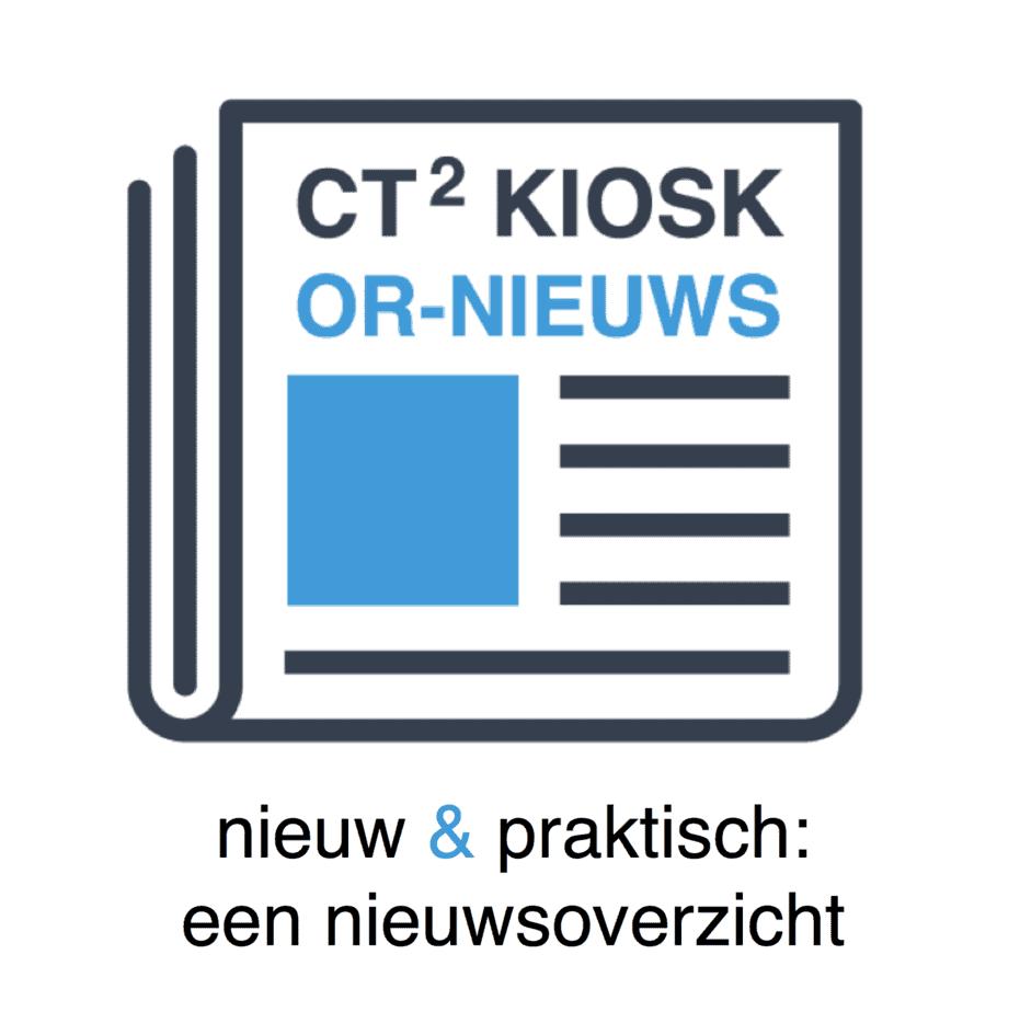 CT2 kiosk het laatste nieuws over de ondernemingsraad - CT2.nl