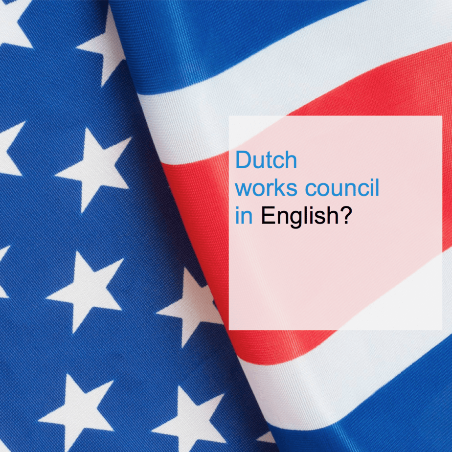Dutch works council in English - CT2.nl