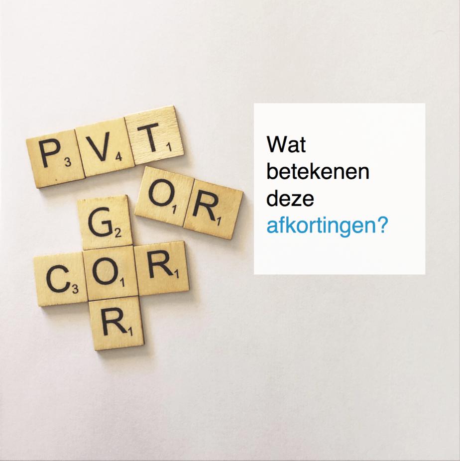 PVT, OR, OC, COR en GOR wat betekenen deze afkortingen - CT2.nl