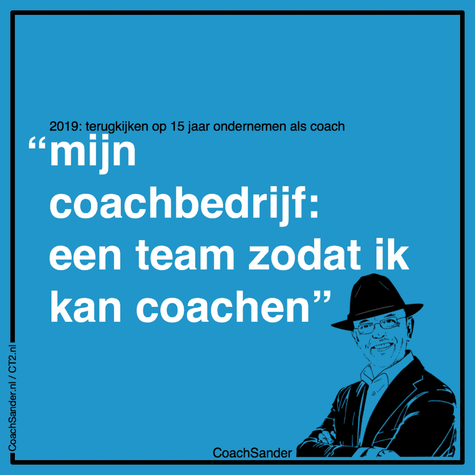 mijn bedrijf een team zodat ik kan coachen - CT2.nl