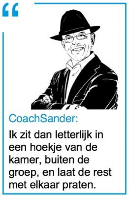 quote ik zit dan letterlijk in een hoekje - CT2.nl