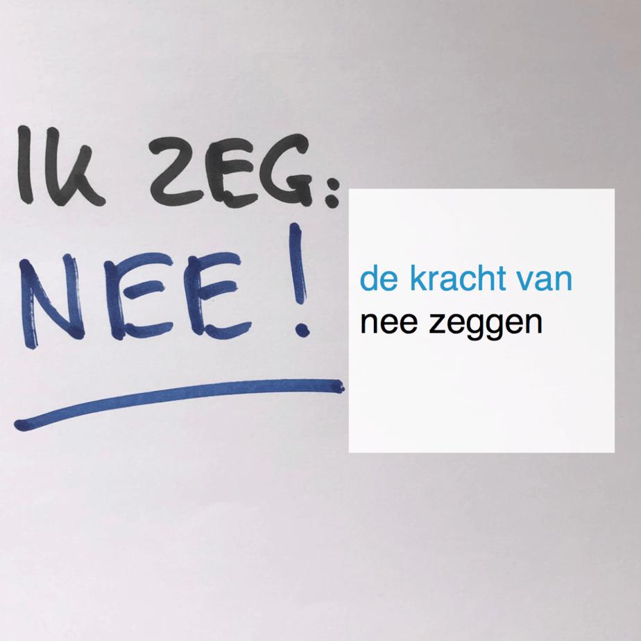 de kracht van nee zeggen - CT2.nl