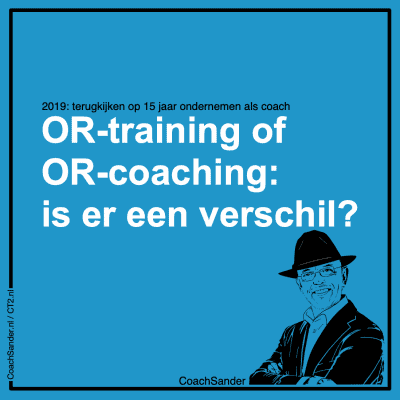 OR-training of OR-coaching is er een verschil - CT2.nl