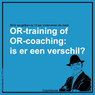 OR-training of OR-coaching is er een verschil - CT2.nl