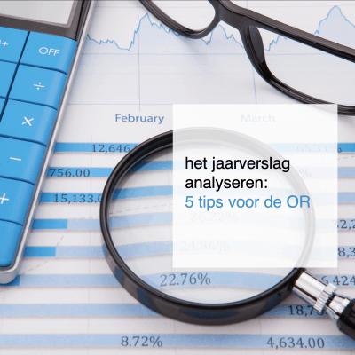 het jaarverslag analyseren tips voor de OR - CT2.nl