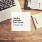 verplicht publiceren door de OR - CT2.nl