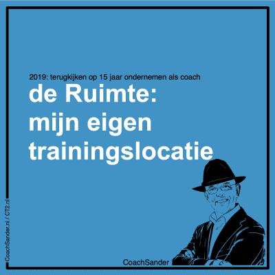 de Ruimte mjn eigen trainingslocatie - CT2.nl