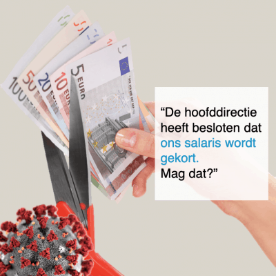 hoofddirectie heeft besloten dat ons salaris wordt gekort - CT2.nl