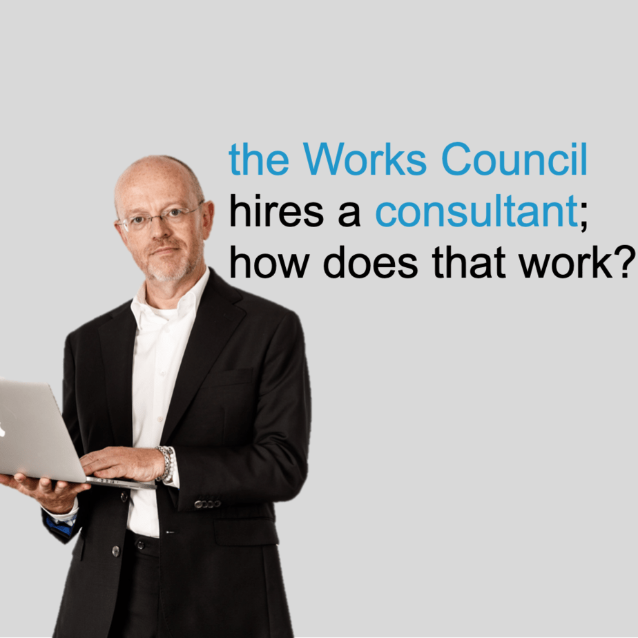 the Works Council hires a consultant how does that work