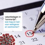 vakantiedagen in corona-tijd - CT2.nl
