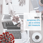 WKR: temporary 3% as a corona aid measure