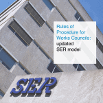 Rules of Procedure for Works Councils: updated SER model