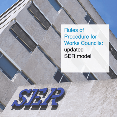 Rules of Procedure for Works Councils - updated SER model - CT2.nl