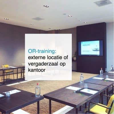 2021-09-07, OR-training- externe locatie of vergaderzaal op kantoor