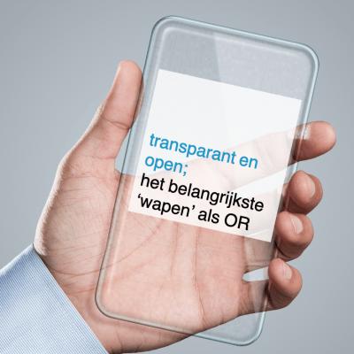 2021-10-11, transparant en open het belangrijkste wapen als OR - CT2.nl