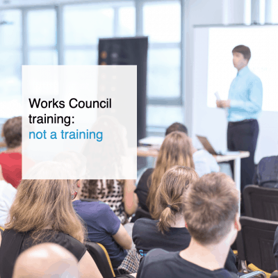 Works Council training is not a training - CT2.nl
